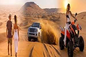 Adventure Red Dune Safari + Quad Bike